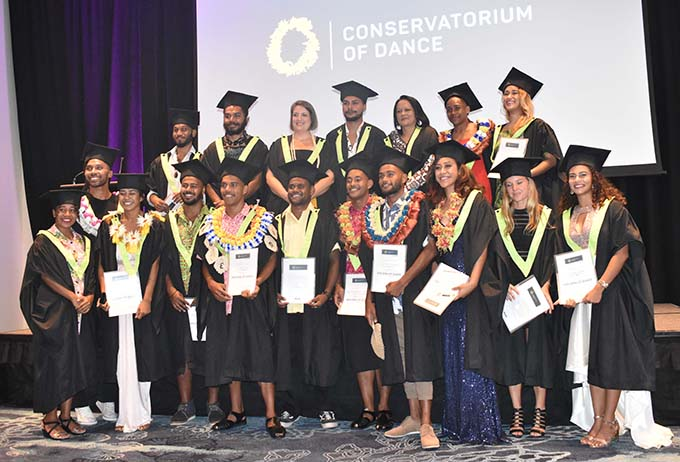 Minister for Education, Heritage and Arts, Rosy Akbar at the inaugural Graduation Ceremony for the Conservatorium of Dance at the Sofitel Fiji Resort on Denarau yesterday. . Photo: Waisea Nasokia