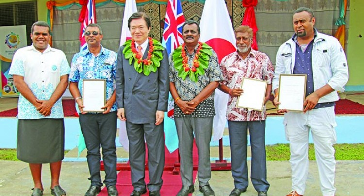 Minister Applauds Work By Fiji-Japan Programme