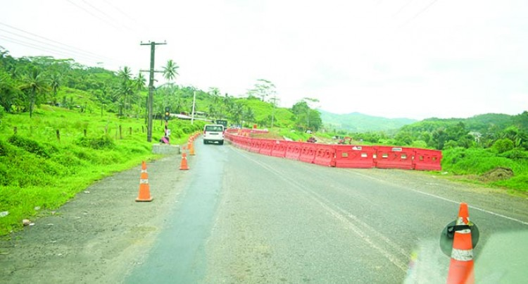 Road Construction Works At Sawani To Finish April 2021