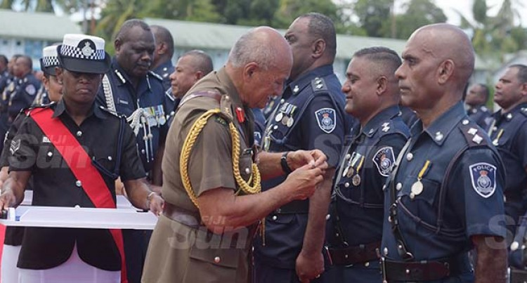 Police Independence Commemorative Medal Investiture