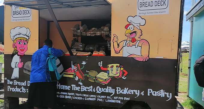 The Breaddeck Kiosl. Photo: Susana Hirst Tuilau