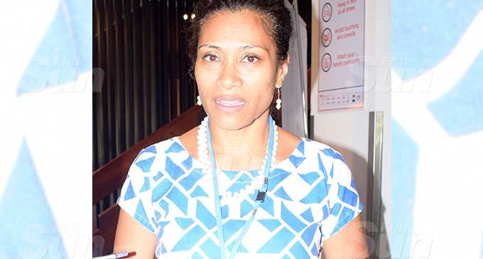 Lynda Tabuya during the SODELPA Managment Board meeting at the Holiday Inn on November 5, 2020. Photo: Ronald Kumar