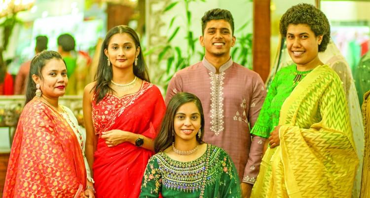 Diwali Attire Variety At Taprobana