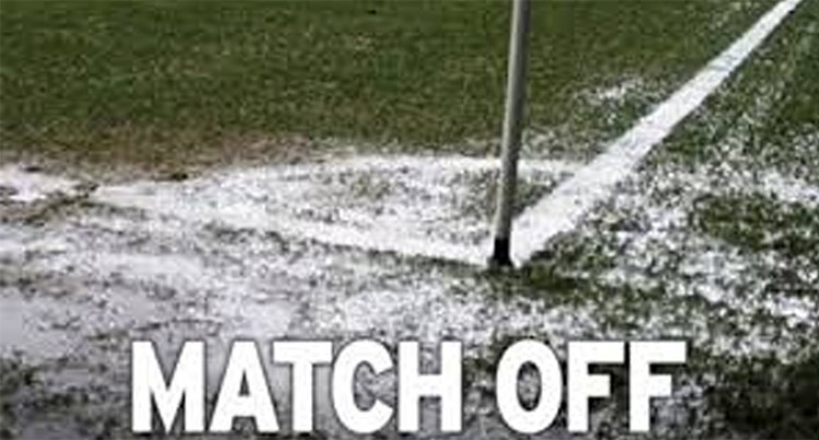 Match Abandoned Due To Bad Weather