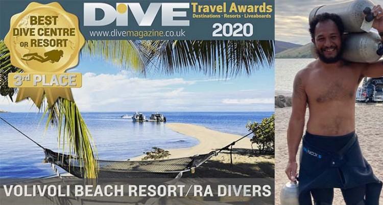 Let's Go Local: Volivoli Beach Resort Named 3rd Best Dive Resort On The Planet