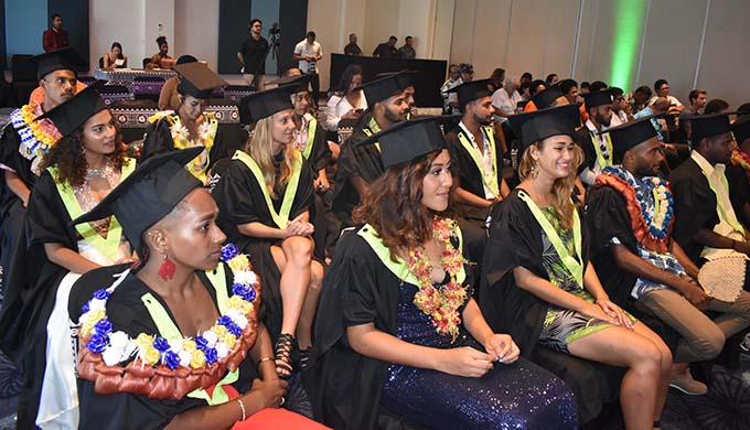 Minister for Education, Heritage and Arts, Rosy Akbar at the inaugural Graduation Ceremony for the Conservatorium of Dance at the Sofitel Fiji Resort on Denarau on November 13, 2020. Photo: Waisea Nasokia