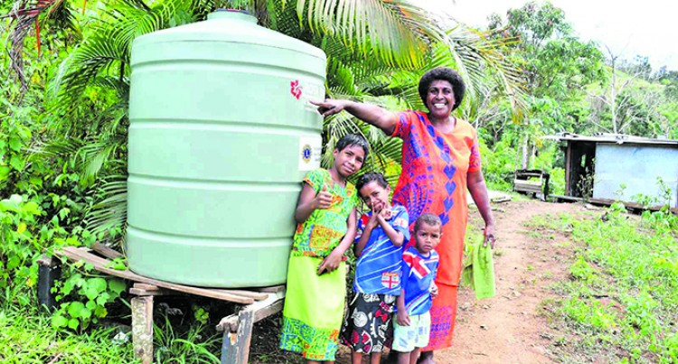 Mum Grateful For PM's Help With Better Home And Water Tank