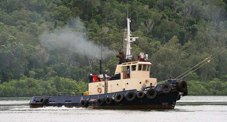 Local Tug Salvages Stricken Vessel
