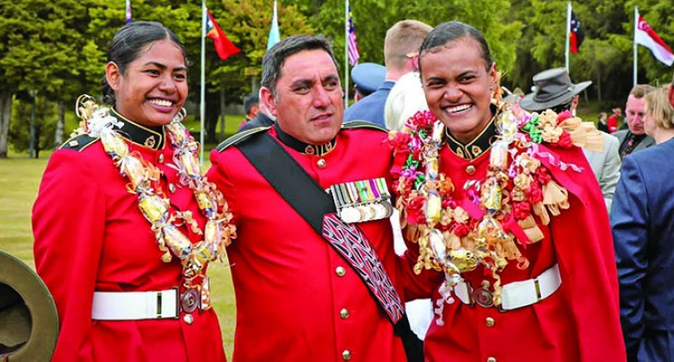 Two RFMF Women Complete Intense Officer Military Training From NZ