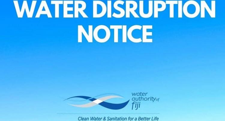 Water Disruptions InNakasiArea