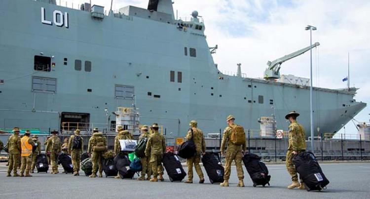 COVID-19 Protocol For HMAS Adelaide