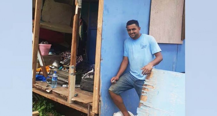 TC Yasa: Couple Wastes No Time In Rebuilding Home
