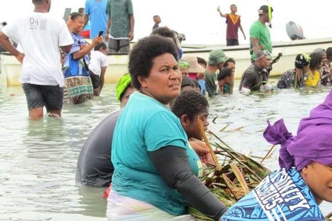 The first yavirau took place at the mataqali fishing grounds. Photo: Aporosa Draunbaka