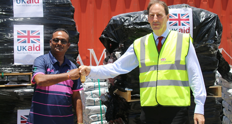 Fijian Government Receives UK Aid