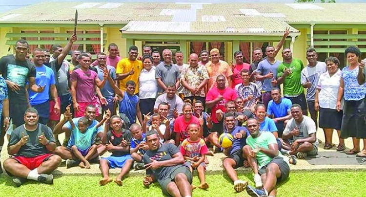 Rewa Ruggers Help Out In Lakeba