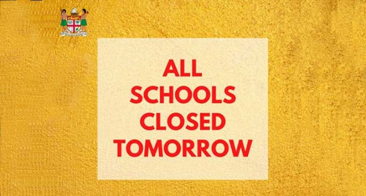 All Schools Closed Tomorrow
