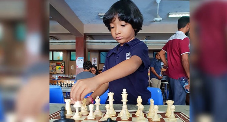 Arohan, 5, Joins Chess Competition