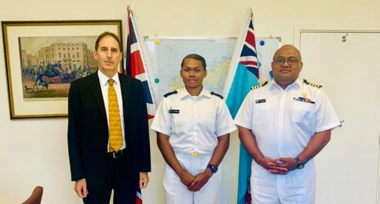 Batiniqila, First Fijian Female To Attend UK Royal Navy