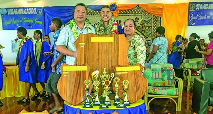 Samoan Lad Luma Is Suva Grammar Dux