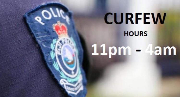 Loitering Cases Top List Of Curfew Breakers: Police