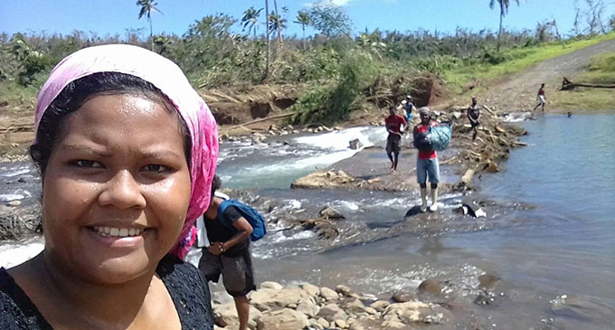 After TC Yasa, circuit members of Daria took whatever they could to help Cogea villagers.