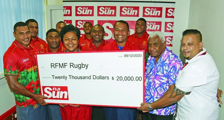 Fiji SUN Again Supports RFMF