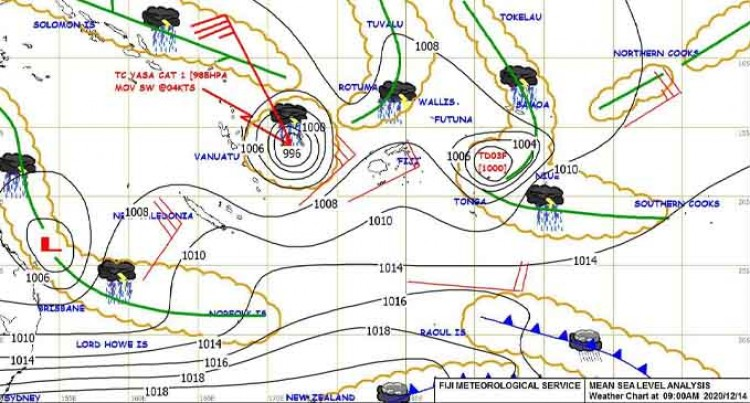 Weather Bulletin 3:30pm Monday 14th of December 2020