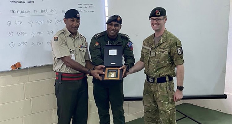 Southlander Gives Fijian Soldiers His Best Shot