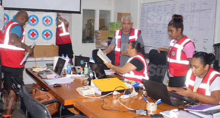 Fiji Red Cross Distributes Relief Items In Vanua Levu