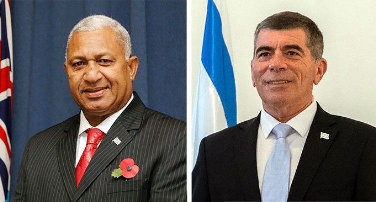 PM Bainimarama Joins Pacific Foreign Ministers In A Virtual Meeting With Israel