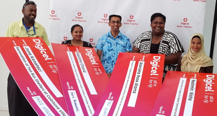 Digicel Offers Financial Assistance For Community Development