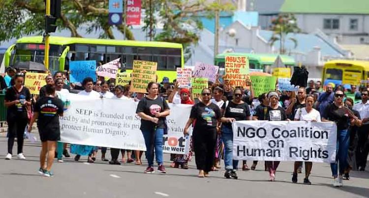 Human Rights Day NGO March – Suva City