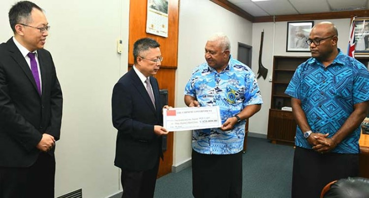 Chinese Government Donates $420K To Prime Minister's Relief Fund: TC Yasa