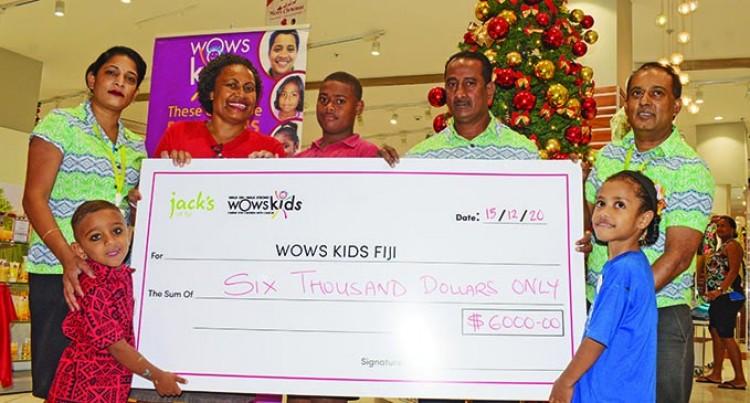 Jack's Of Fiji Donates $6000 To WOWS Fiji