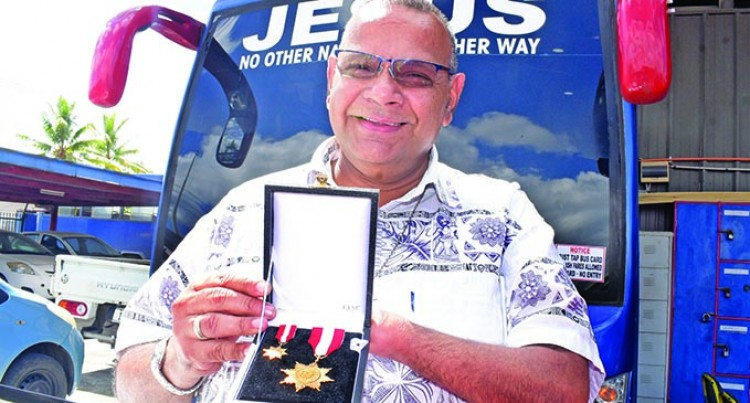 Jasper Singh Honoured For Years Of Service To Lami