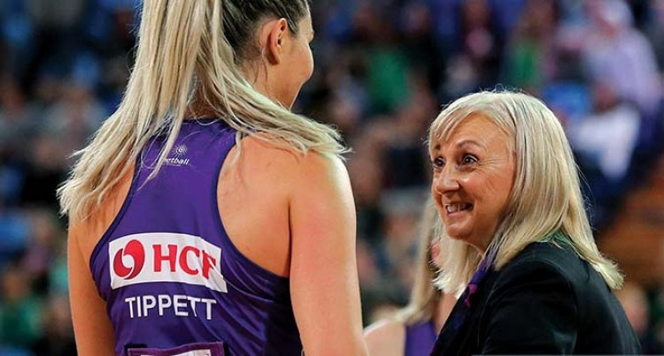 Jenny Our New Netball Coach