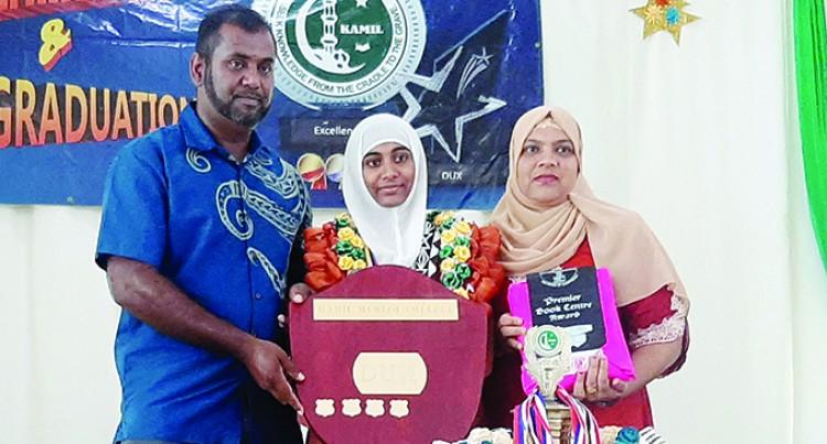 Kamil Muslim College Headgirl Scoops Dux Award