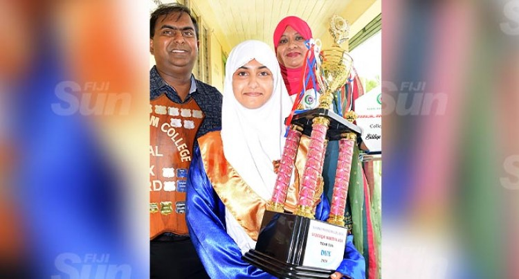Dux Siddiqa Makes Parents Proud, Ready For Y13 Final Exams