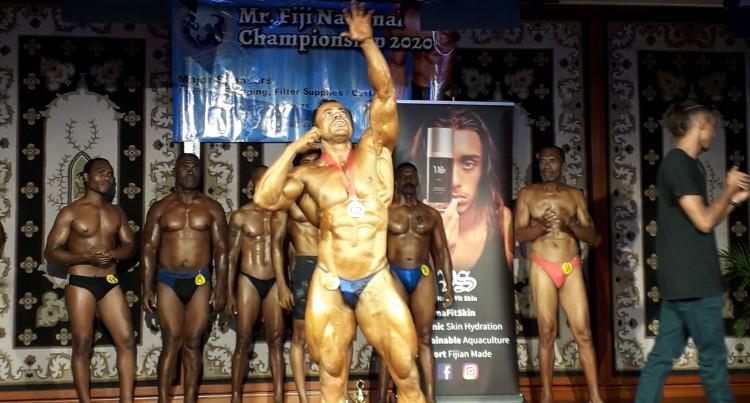 Bodybuilders Strut Their Stuff At Nationals
