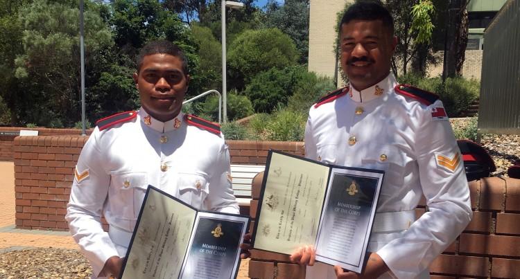 Second-Lieutenant Amaraki Dedicates Military Success To Late Grandmother