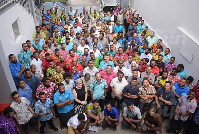 HEADING FOR AUSTRALIA... 184 Fijians will leave in January for a three-year work term under the Fijian and Australian Government Pacific Labour Scheme programme. Photo: Ronald Kumar
