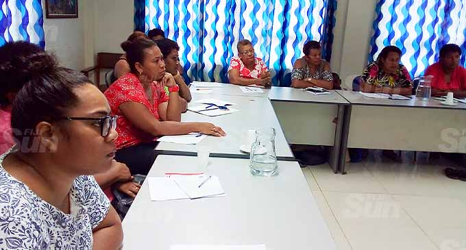 Participants of the Micro Small Medium Enterprises (MSME) training conducted in collaboration with the Ministry of Industry, Trade and Tourism and Fiji Revenue Customs Services . Photo: Elena Lauwai
