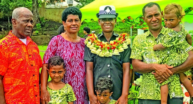 Dux Award For Daughter Of Former Cops