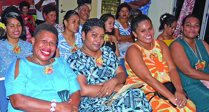 Suva rugby players families and supporters during the awards night at Albert Park. Photo:  Ronald Kumar