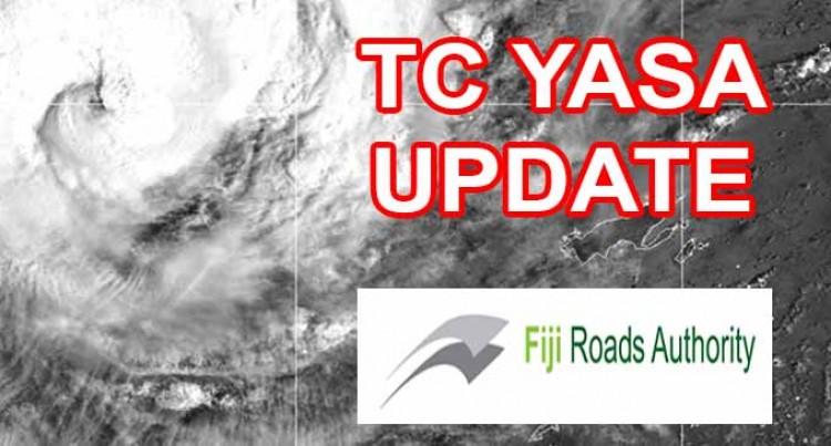 Fiji Roads Authority – Situation Report 01