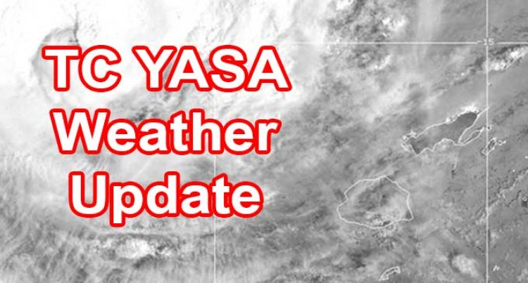 TC Yasa Intensifies Further Into A Category 5 System And Slow Moving Towards Fiji