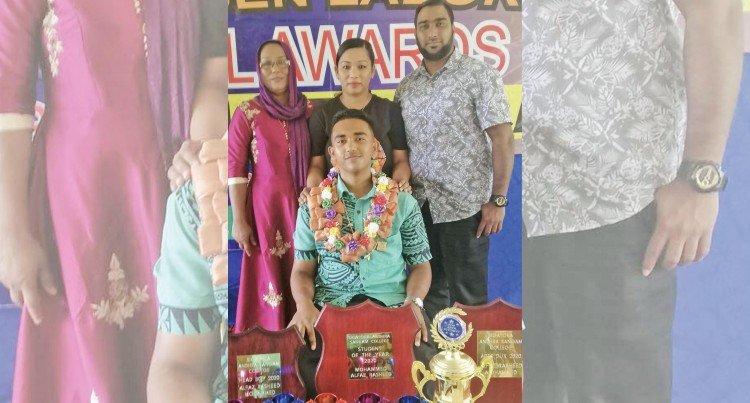 Hard Work Pays Off For Andhra College Dux