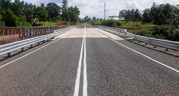New Vesidrua Bridge Completed Ahead Of Schedule, Now Open To Traffic