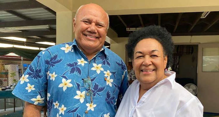 SODELPA Party Leader Pays First Courtesy Call  To Mrs. Leba Qarase