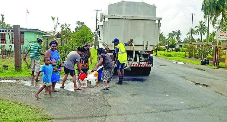 Water Disruption Continues